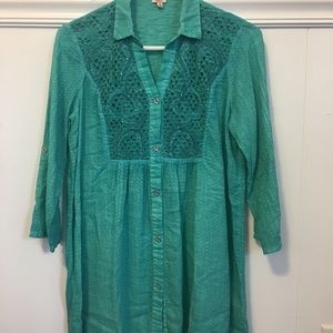 Tops - Women's Tunic blouse 3/4 sleeve size S